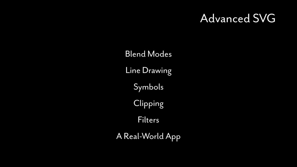 Advanced SVG Blend Modes Line Drawing Symbols C...