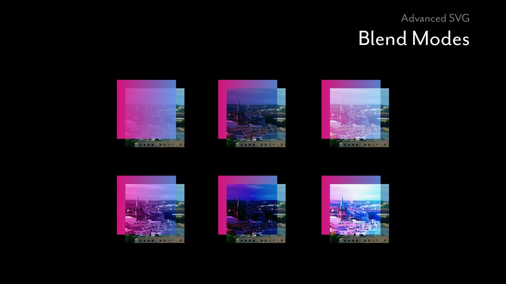 Advanced SVG Blend Modes