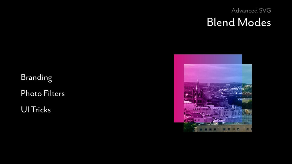 Advanced SVG Blend Modes Branding Photo Filters...