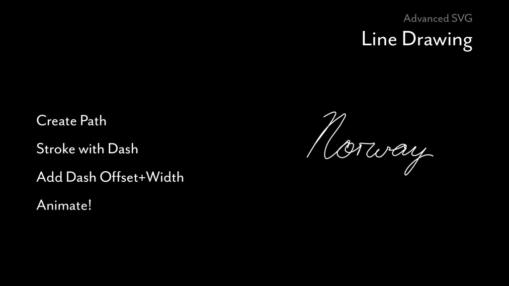 Advanced SVG Line Drawing Create Path Stroke wi...