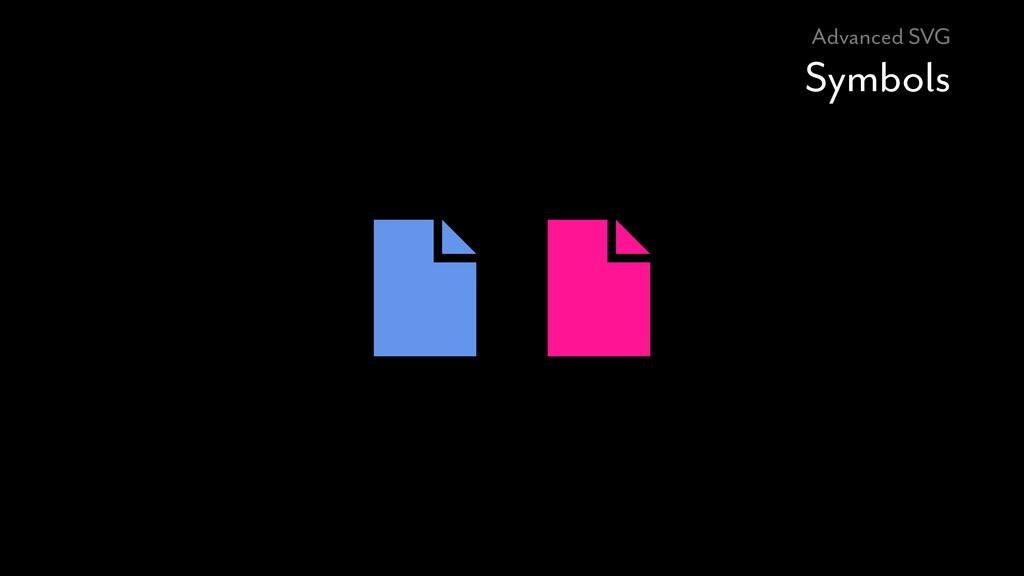 Advanced SVG Symbols