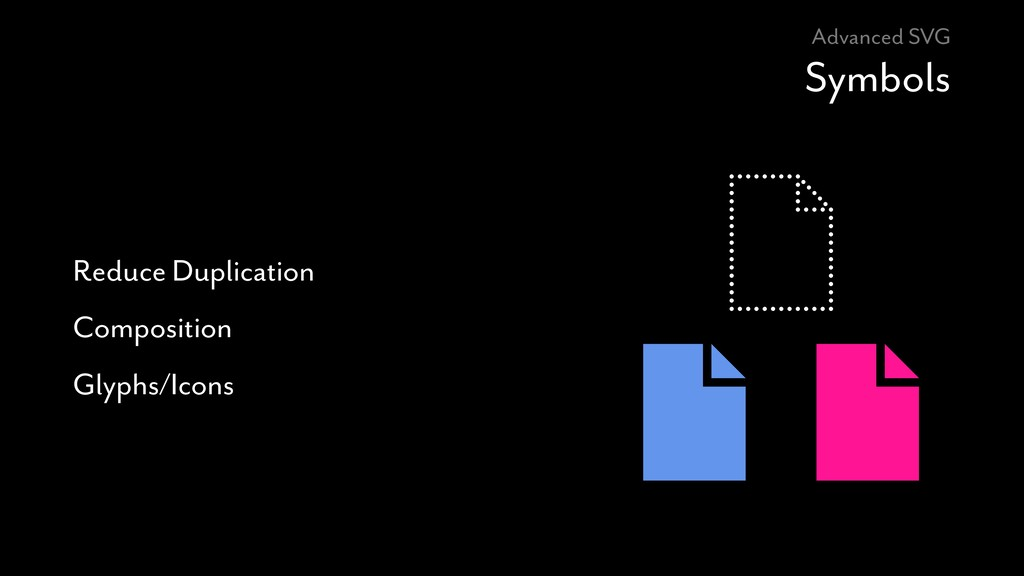 Advanced SVG Symbols Reduce Duplication Composi...