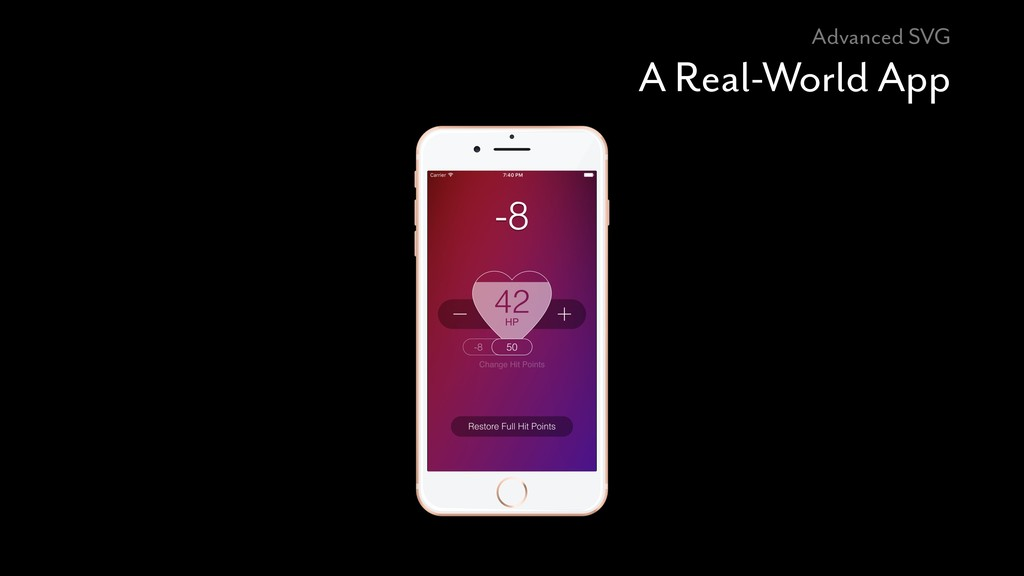 Advanced SVG A Real-World App