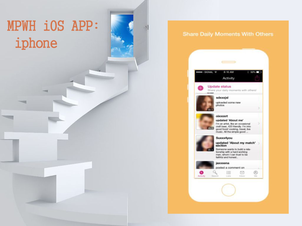 MPWH iOS APP: iphone