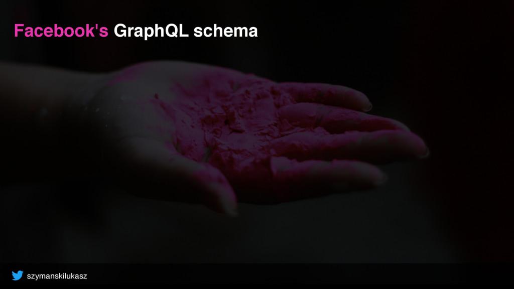 szymanskilukasz Facebook's GraphQL schema
