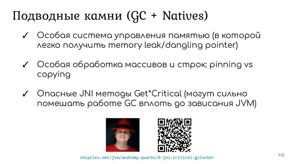 Подводные камни (GC + Natives) 112 ✓ Особая сис...