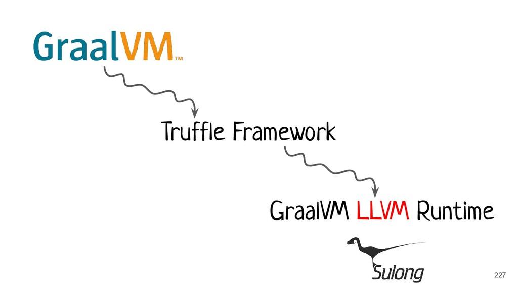 Truffle Framework GraalVM LLVM Runtime 227