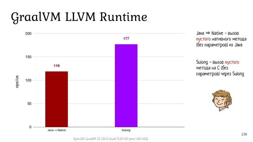 236 GraalVM LLVM Runtime Java ⇒ Native - вызов ...
