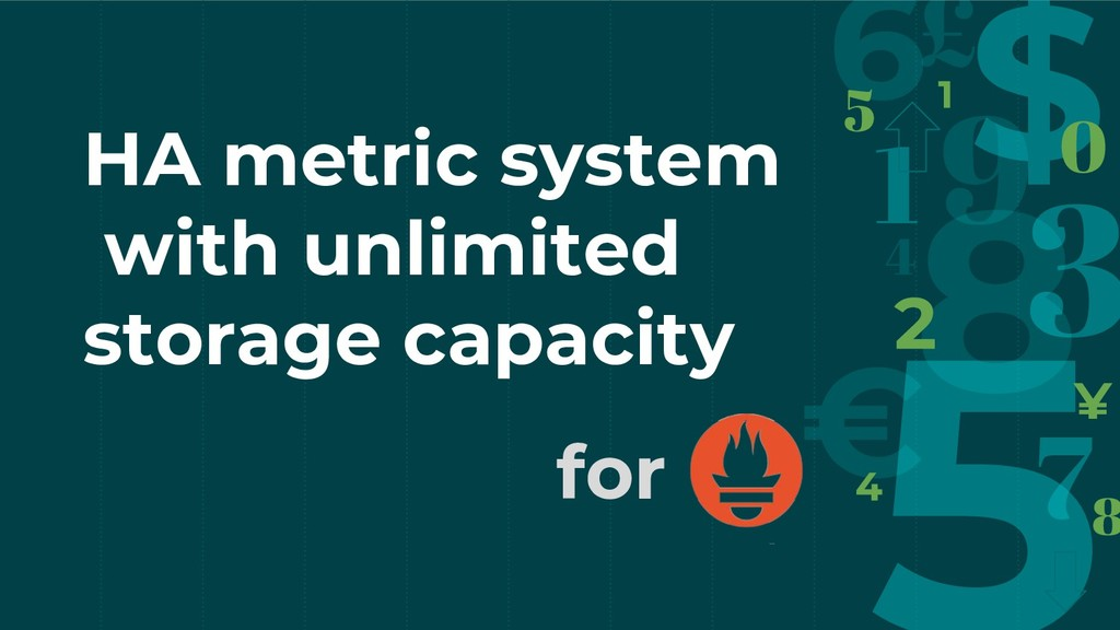 HA metric system with unlimited storage capacit...
