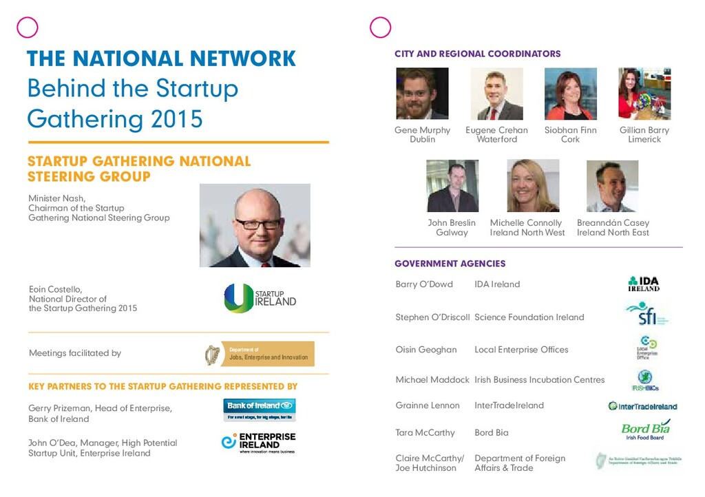 THE NATIONAL NETWORK Behind the Startup Gatheri...