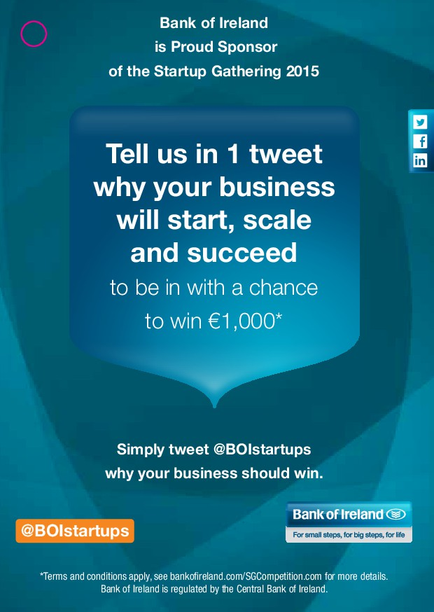 Tell us in 1 tweet why your business will start...