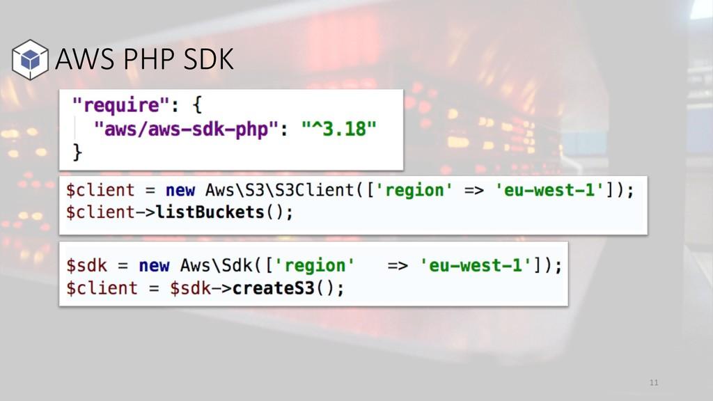 AWS PHP SDK 11