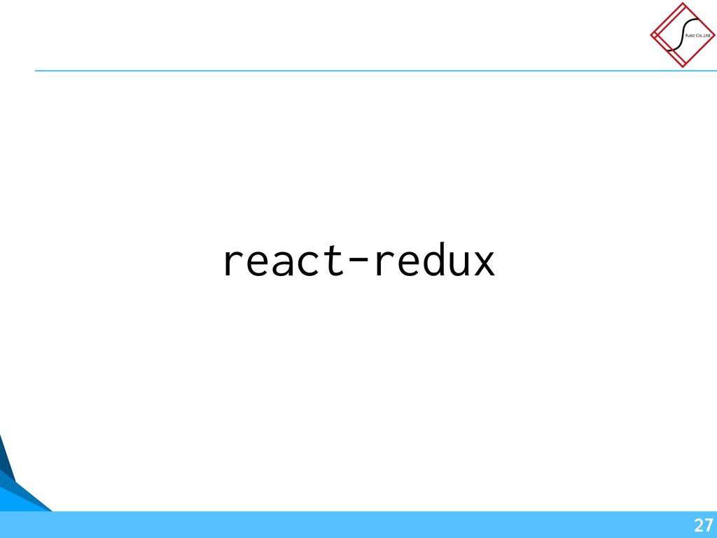 react-redux !27