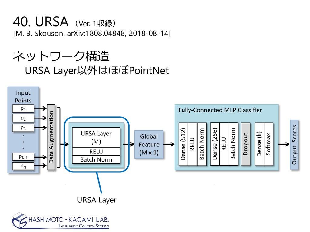 40. URSA(Ver. 1収録) [M. B. Skouson, arXiv:1808.0...