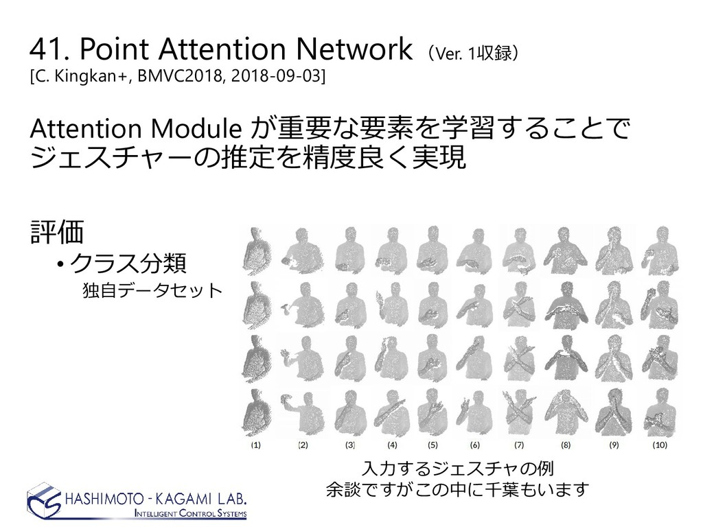 41. Point Attention Network (Ver. 1収録) [C. King...