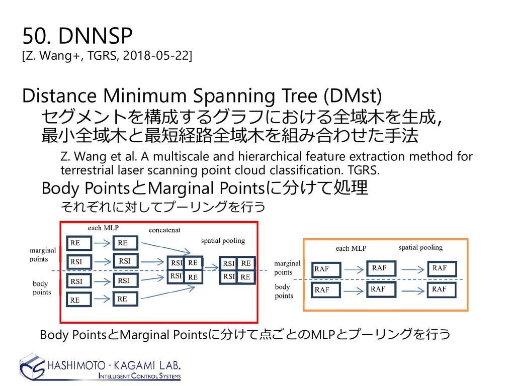 50. DNNSP [Z. Wang+, TGRS, 2018-05-22] Distance...