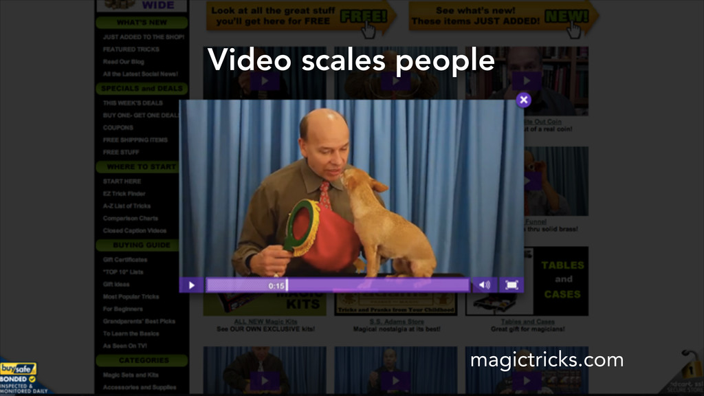 Video scales people magictricks.com