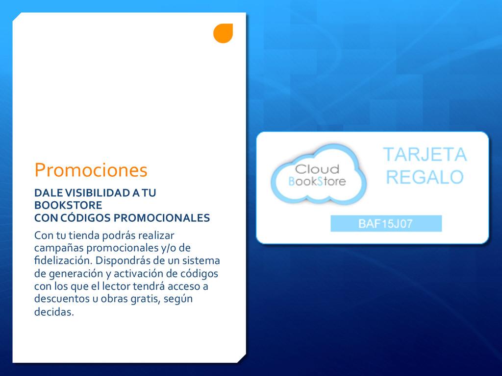Promociones  DALE VISIBILIDAD A TU...