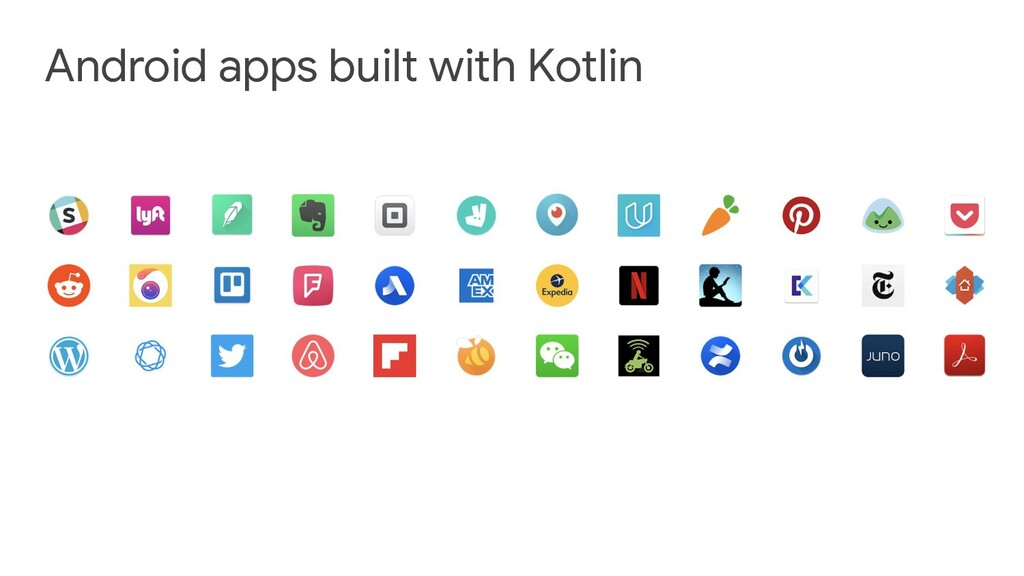 Android apps built with Kotlin