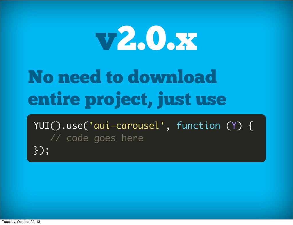 No need to download entire project, just use YU...