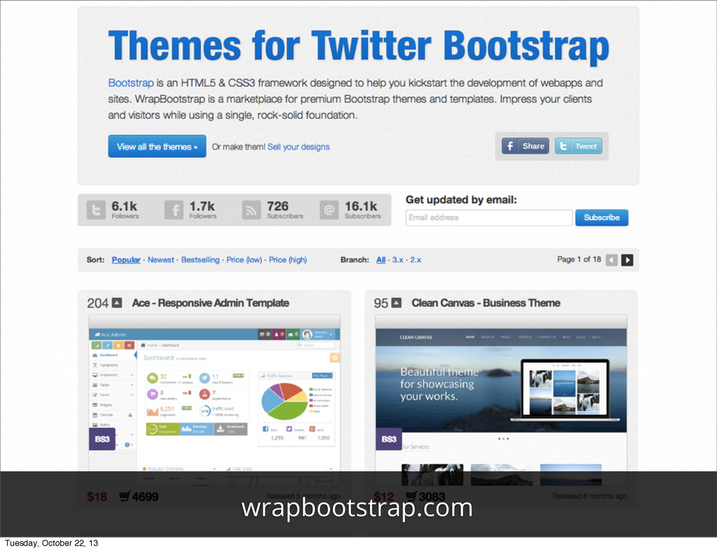 wrapbootstrap.com Tuesday, October 22, 13