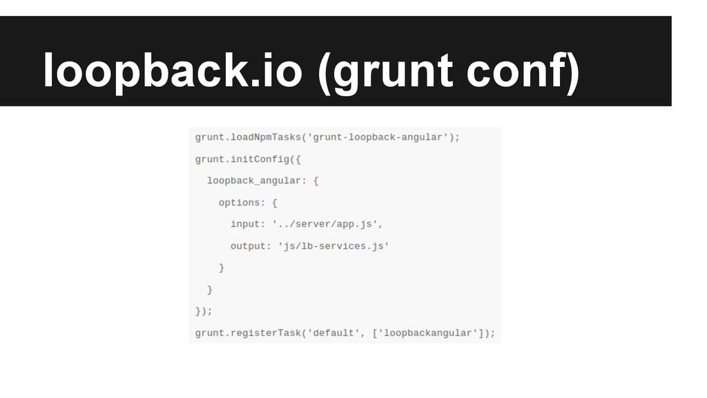 loopback.io (grunt conf)