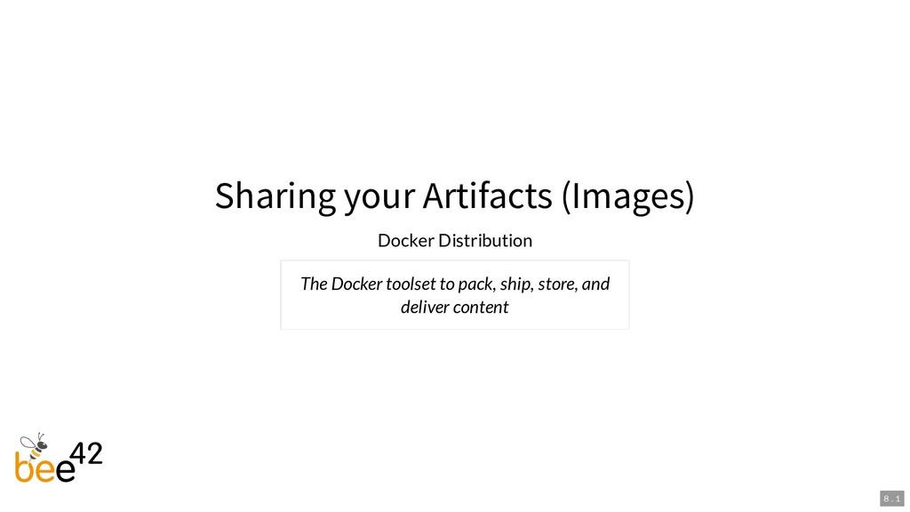 Sharing your Artifacts (Images) Docker Distribu...