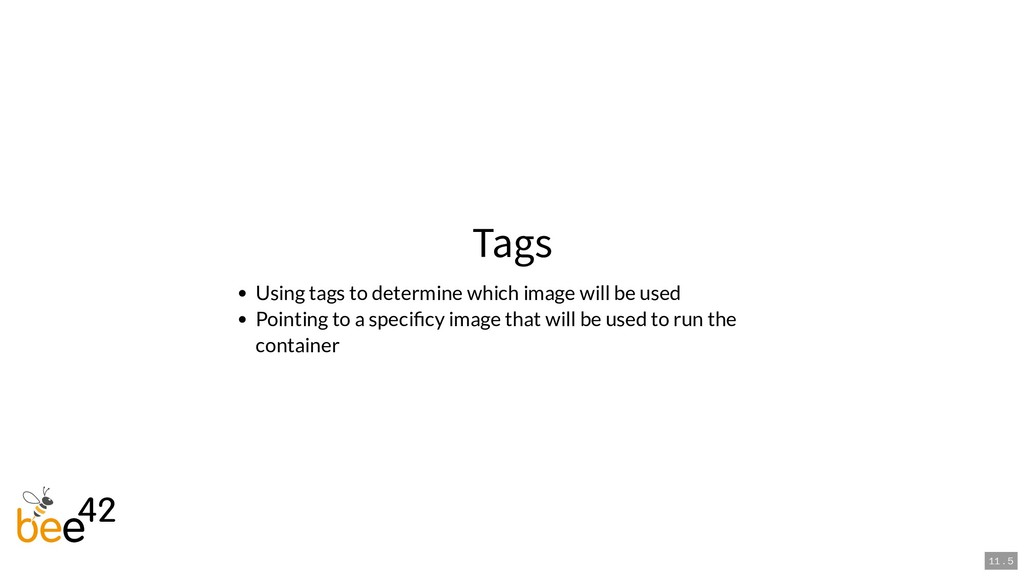 Tags Using tags to determine which image will b...