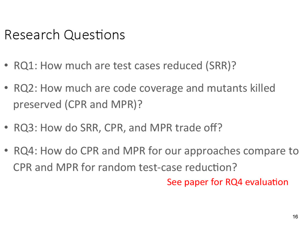 Research Ques&ons