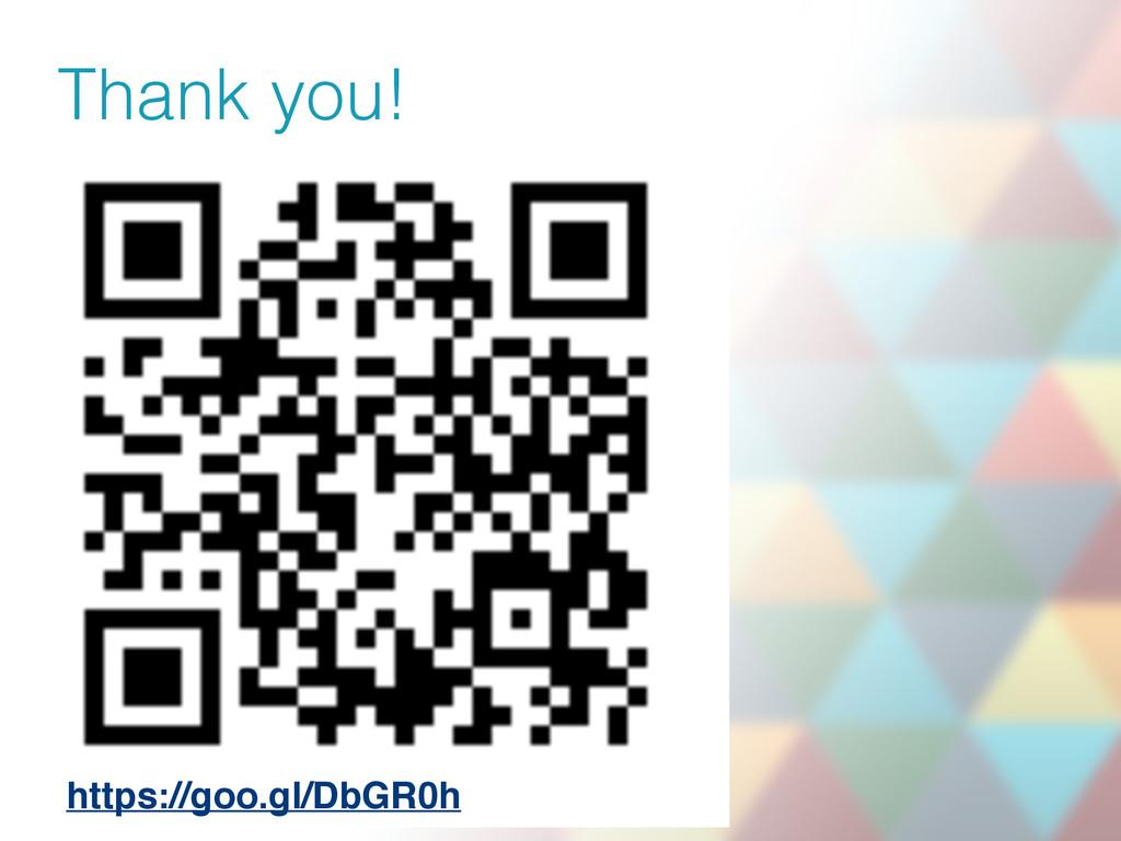 Thank you! https://goo.gl/DbGR0h