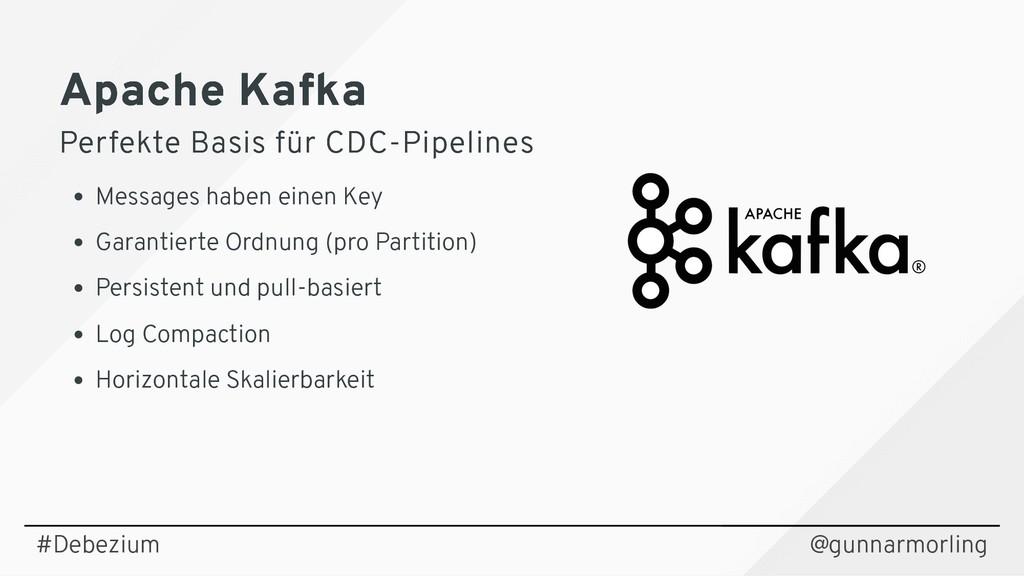Apache Kafka Apache Kafka Perfekte Basis für CD...
