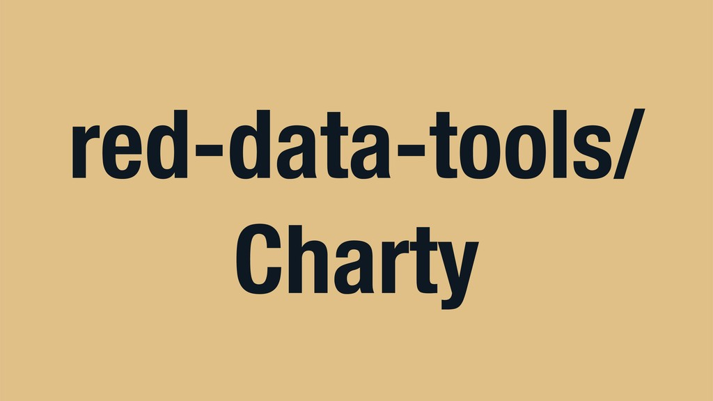 red-data-tools/ Charty
