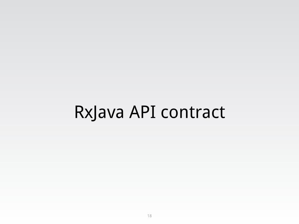 RxJava API contract 18