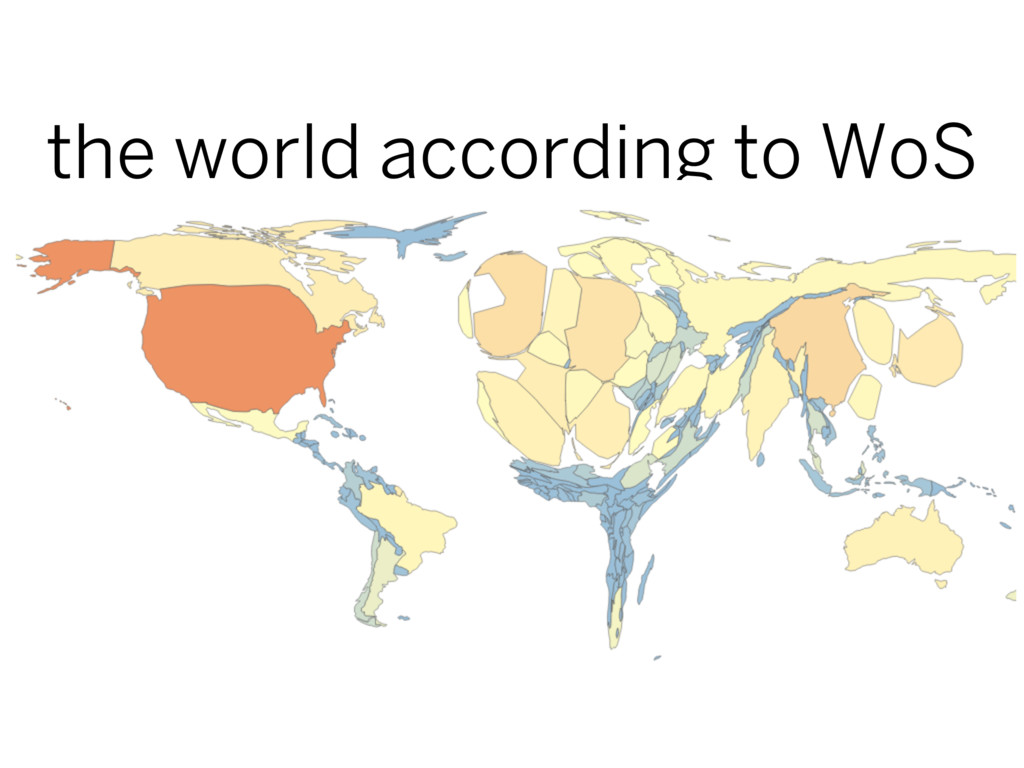 the world according to WoS