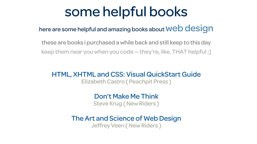 some helpful books here are some helpful and am...