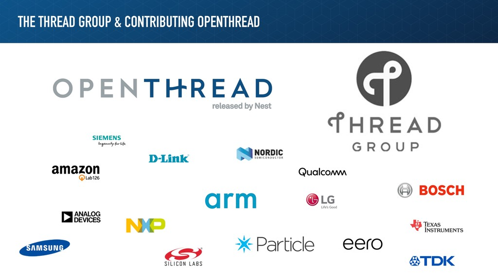THE THREAD GROUP & CONTRIBUTING OPENTHREAD