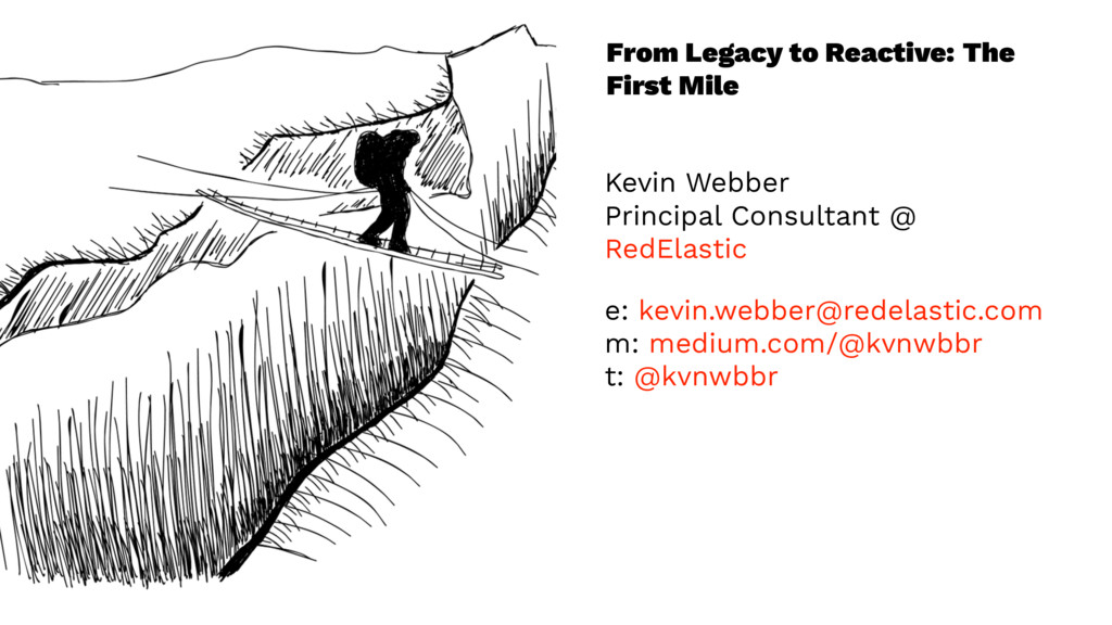 From Legacy to Reactive: The First Mile Kevin W...