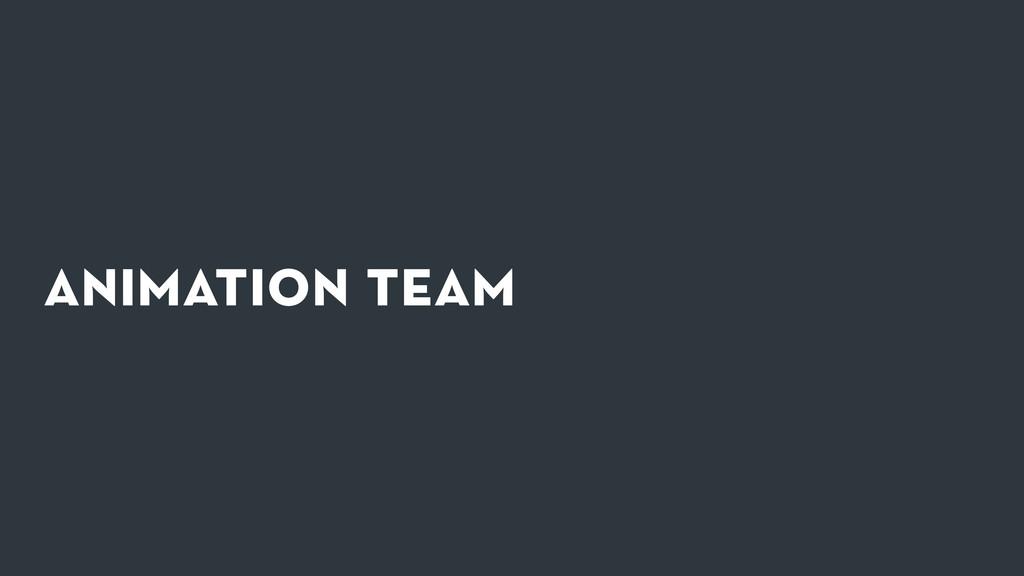 animation team