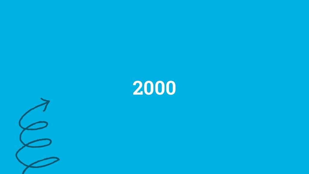 3 ©2019 2000