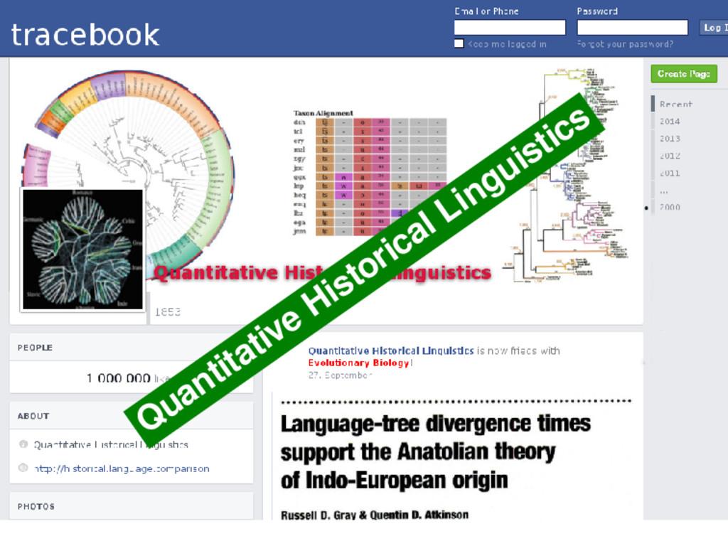 Quantitative Historical Linguistics 19 / 50