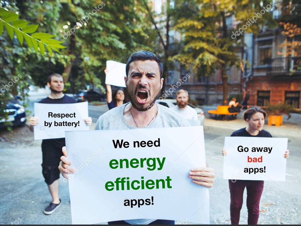 Go away bad apps! Respect by battery! We need e...