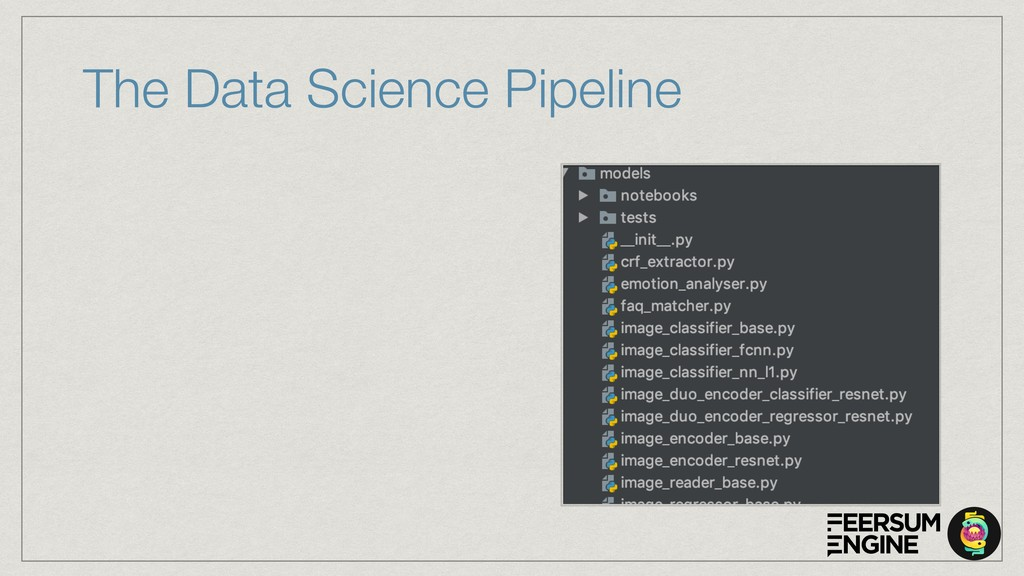 The Data Science Pipeline
