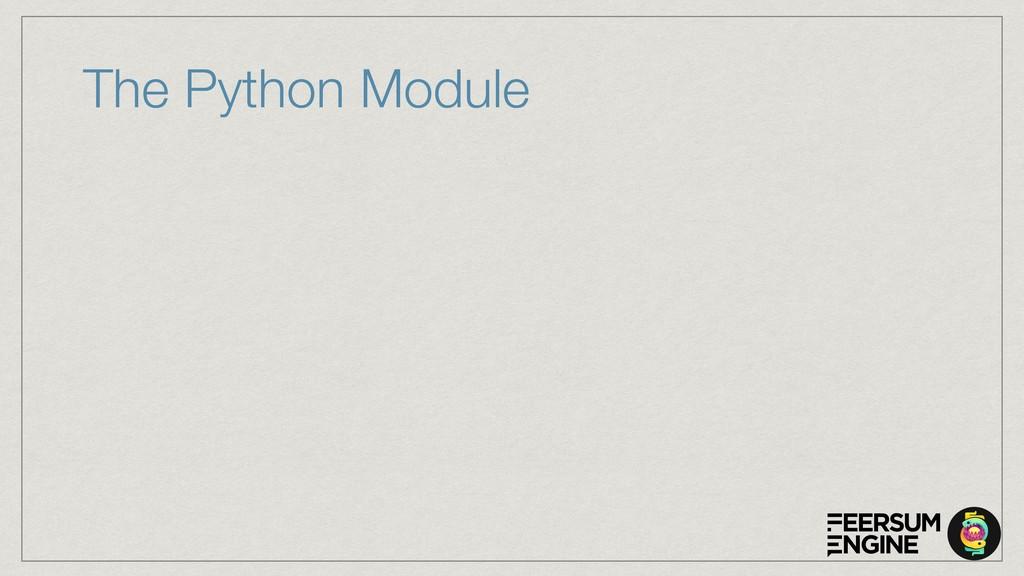 The Python Module