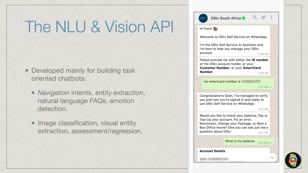 The NLU & Vision API Developed mainly for build...
