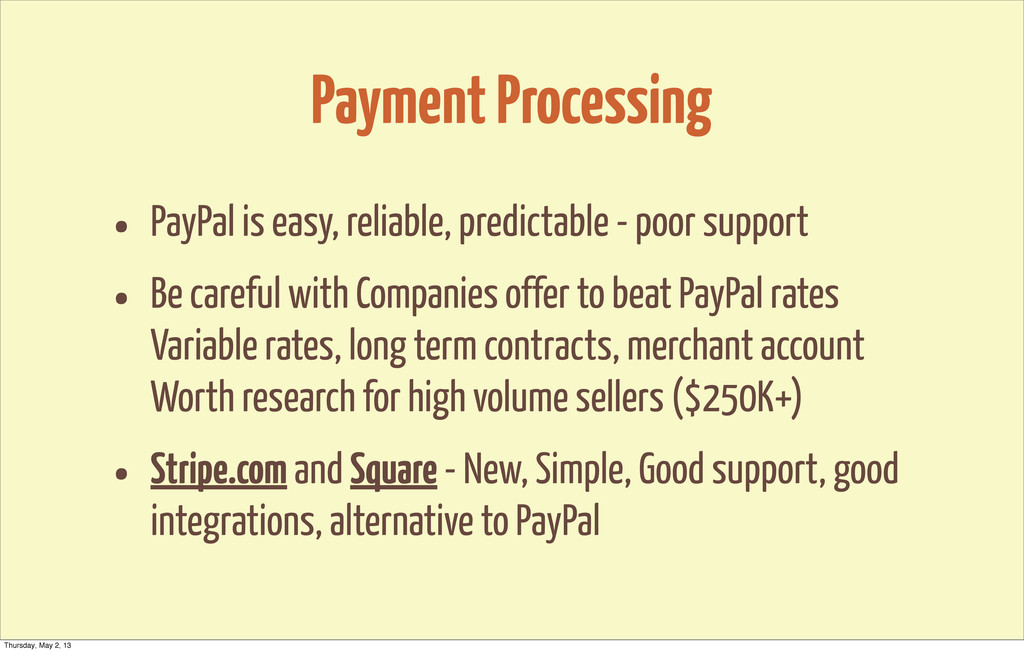Payment Processing • PayPal is easy, reliable, ...