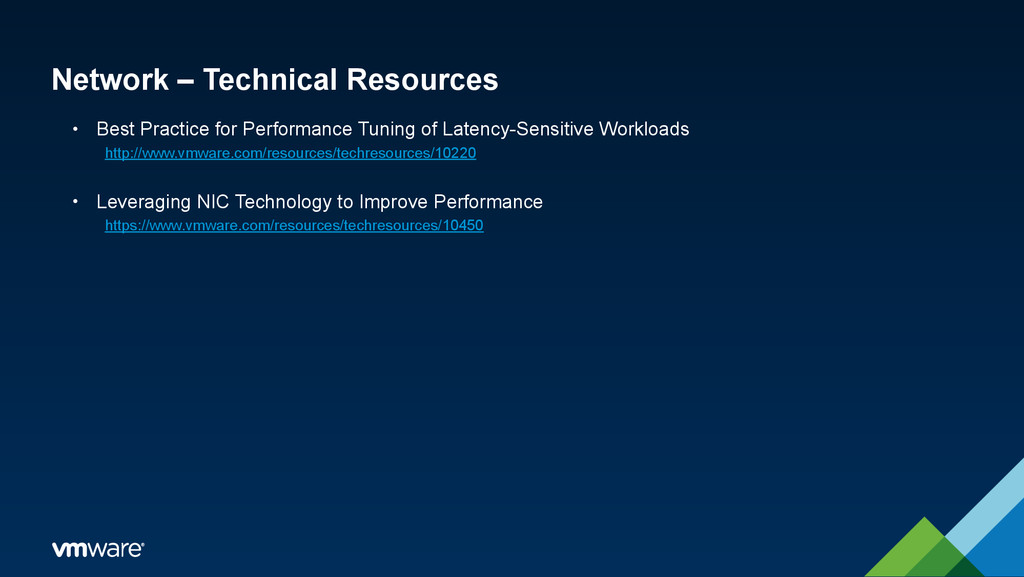 Network – Technical Resources • Best Practice f...