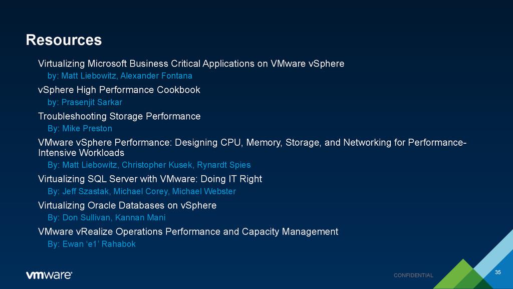 CONFIDENTIAL Resources Virtualizing Microsoft B...