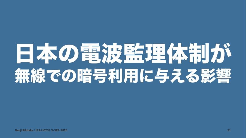 ຊͷిཧମ੍͕ ແઢͰͷ҉߸ར༻ʹ༩͑ΔӨڹ Kenji Rikitake / IPSJ...