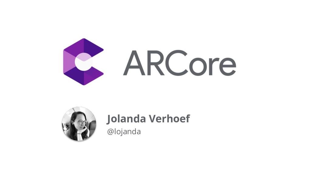 Jolanda Verhoef @lojanda
