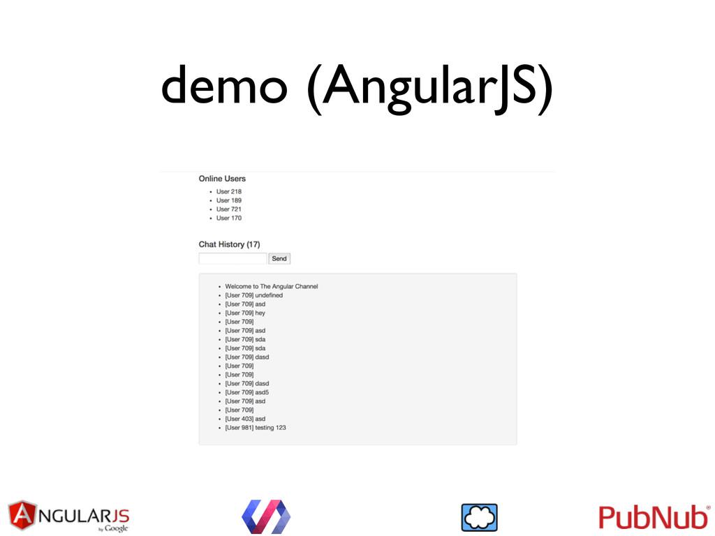 demo (AngularJS)
